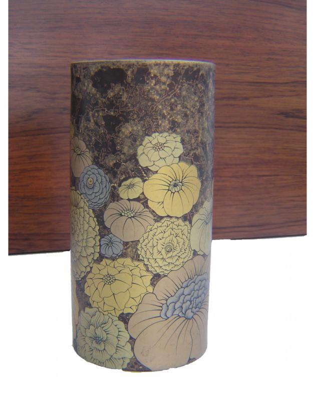 Floral Gold Vase (2)