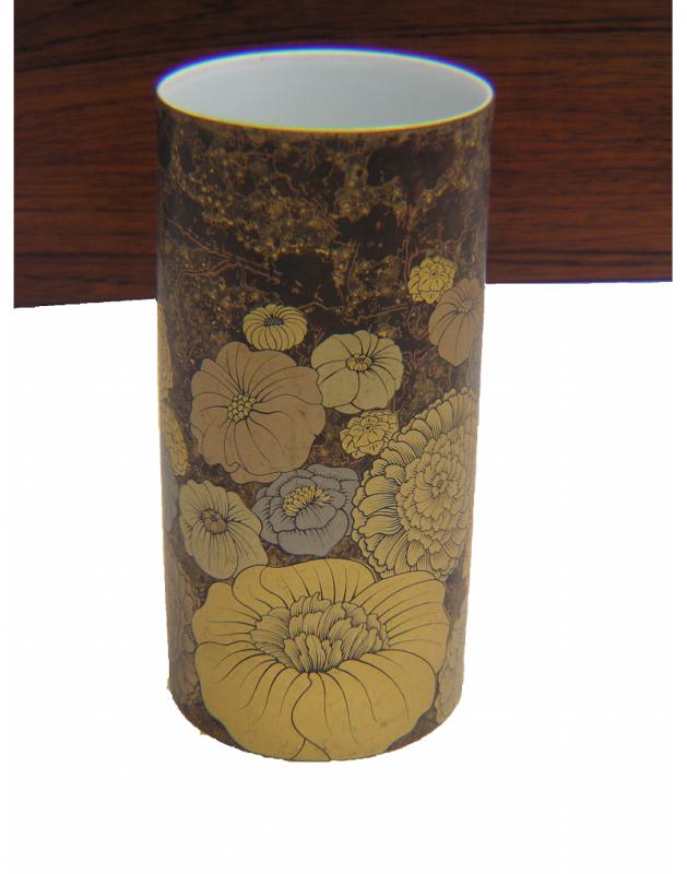 Floral Gold Vase (5)