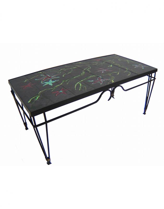 Enamelled coffee table (2)