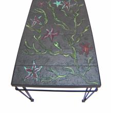 Enamelled coffee table (4)