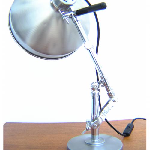 Shop Light With Reflector: Vintage Reflector Light