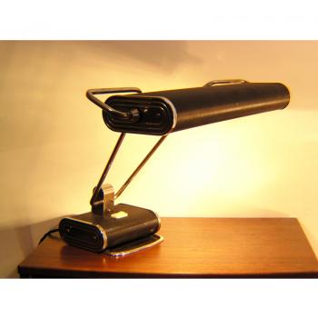 french,1940s,jumo,lamp,table lamp,desk lamp,eileen grey,