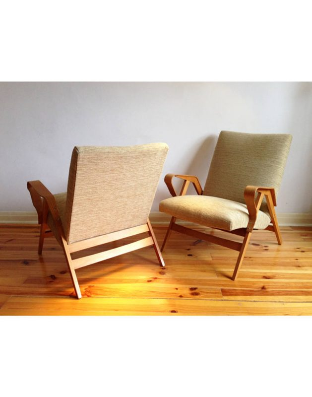 1950s Tcheck Armchairs  (12)