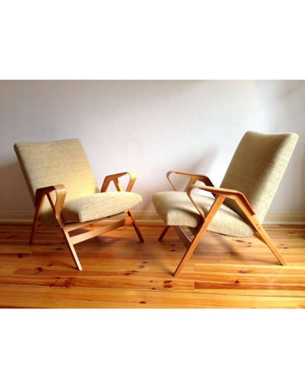 1950s Tcheck Armchairs  (18)