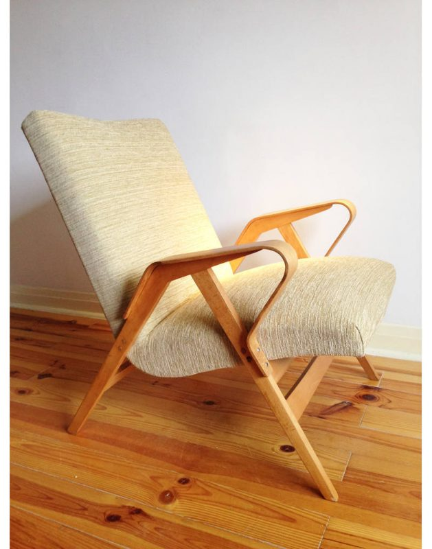 1950s Tcheck Armchairs  (6)