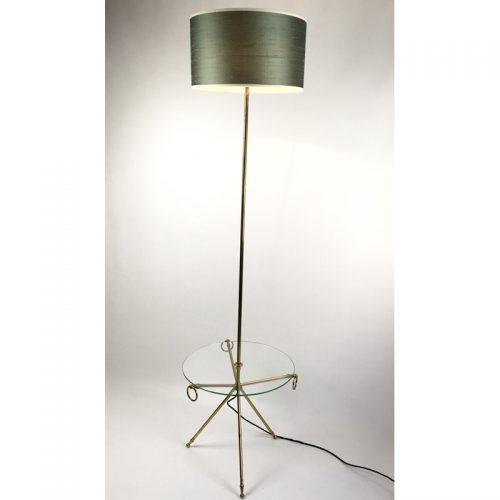 1950s brass french table floor lamp (4)