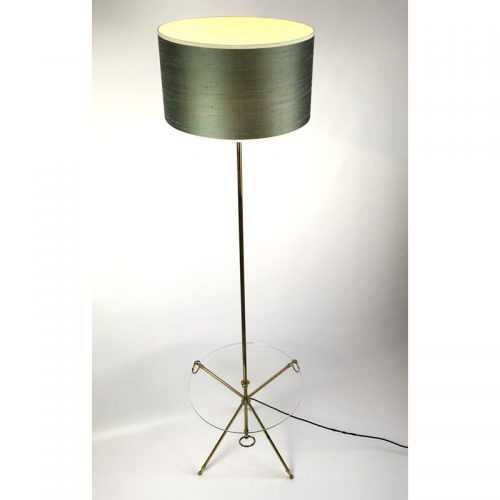 1950s brass french table floor lamp (7)