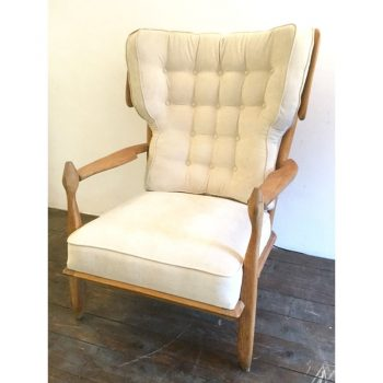 guillerme et chambron-lounge-chair-armchair-clément-french-votre maison-oak-1950-1960