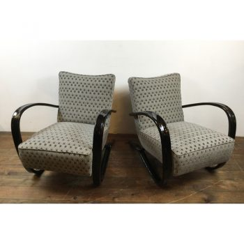 jindrich-halabala-armchairs-thonet-H269-UP Závody Brno-1930s-1940s- Czechoslovakia