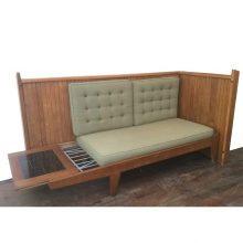1960s guillerme et chambron daybed banquette (15)