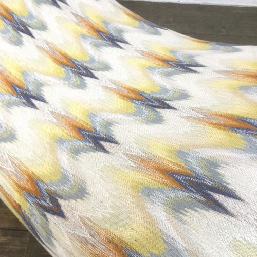 lounge chair longue chaise missoni fabric (6)