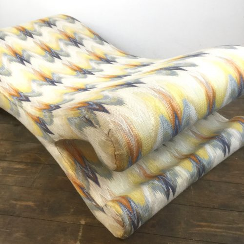 lounge chair longue chaise missoni fabric (7)
