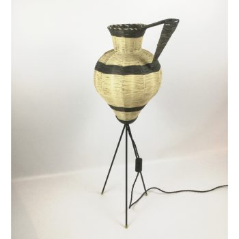 1950s-floor-lamp-standing-jug-raffia-tripod-france-picasso-cubist
