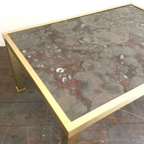 fossil and brass coffee table (10)
