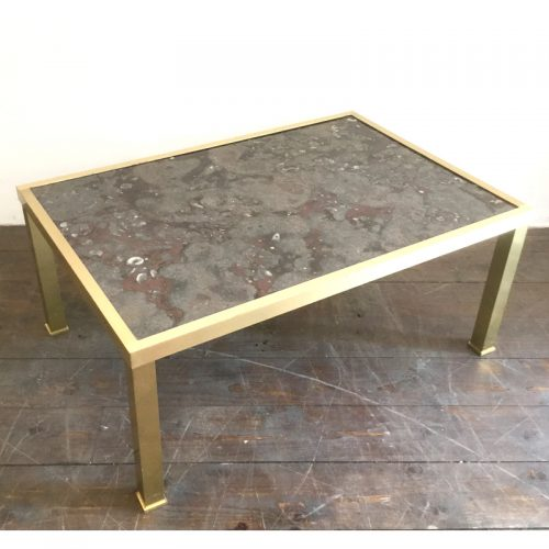 fossil and brass coffee table (11)