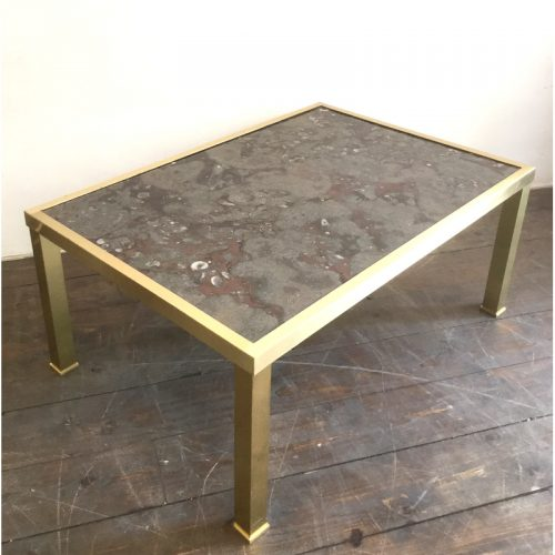 fossil and brass coffee table (12)