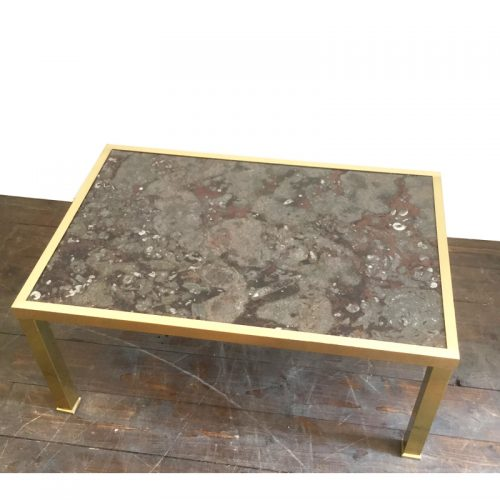 fossil and brass coffee table (5)