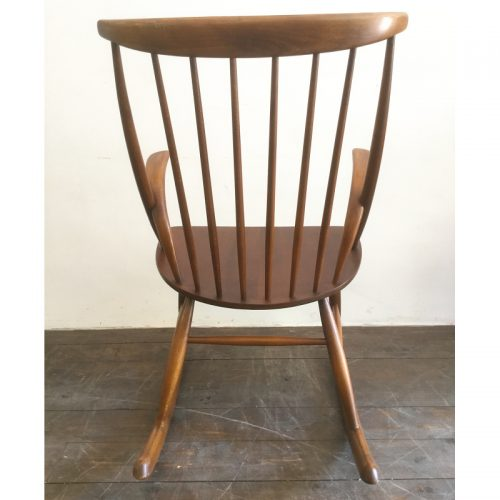 illum wikkelsø danish rocking chair gyngestol 1958 (2)