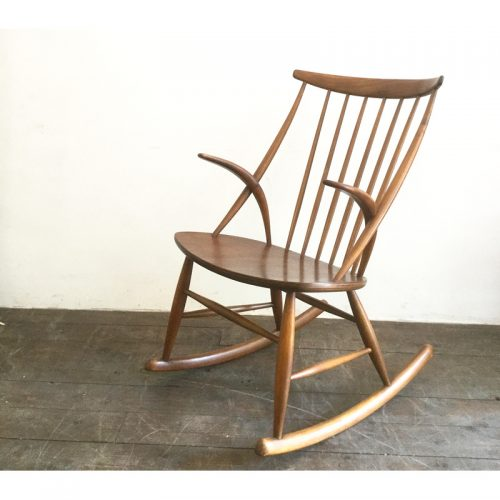 illum wikkelsø danish rocking chair gyngestol 1958 (7)
