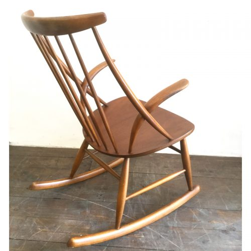 illum wikkelsø danish rocking chair gyngestol 1958 (9)