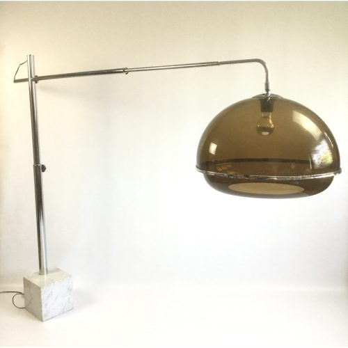 1970s belgium chrome and marble arc lamp (11)