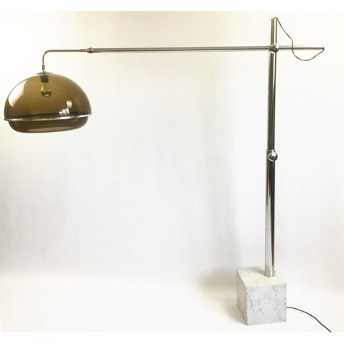 1970s belgium chrome and marble arc lamp (16)