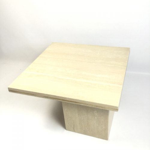 1970s travertine coffee table style willy rizzo (1)