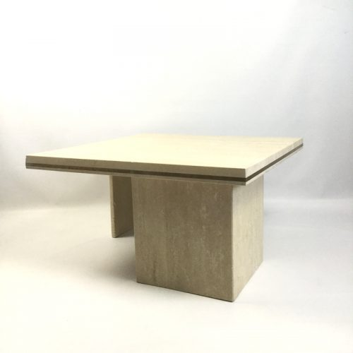 1970s travertine coffee table style willy rizzo (10)