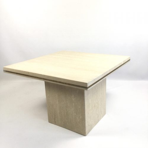 1970s travertine coffee table style willy rizzo (14)