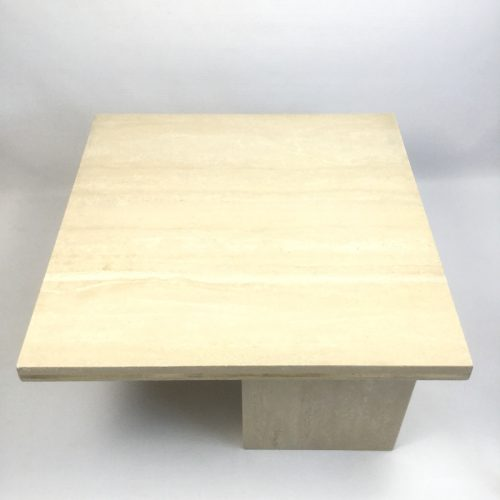1970s travertine coffee table style willy rizzo (8)
