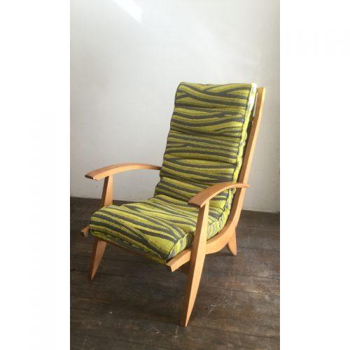 1950s armchair fauteuil free span model FS123 (3)