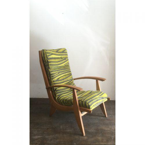 1950s armchair fauteuil free span model FS123 (7)