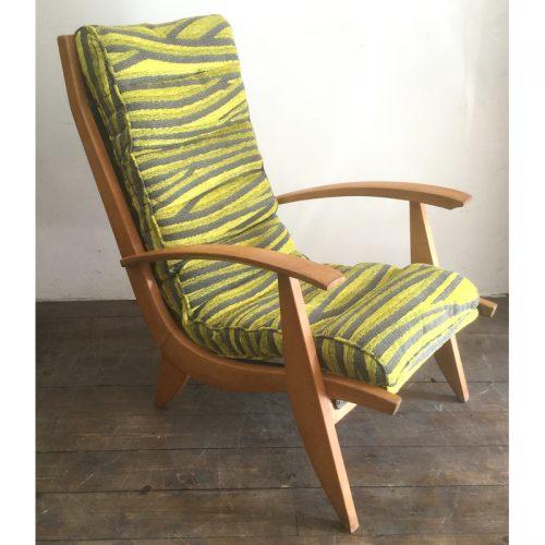 1950s armchair fauteuil free span model FS123 (8)
