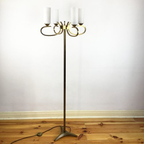 french brass floor lamp 1960s (1)