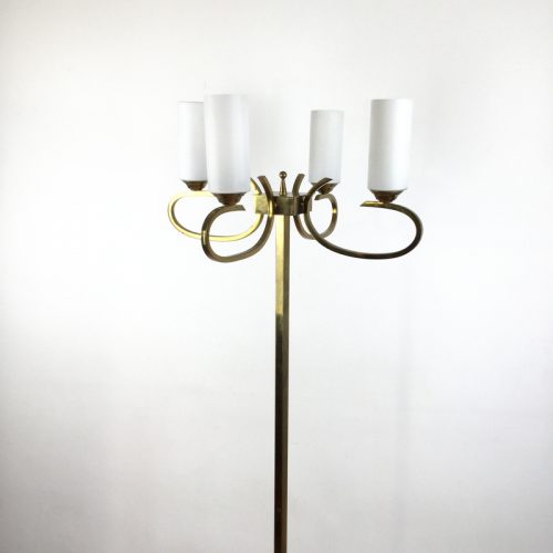 french brass floor lamp 1960s (12)