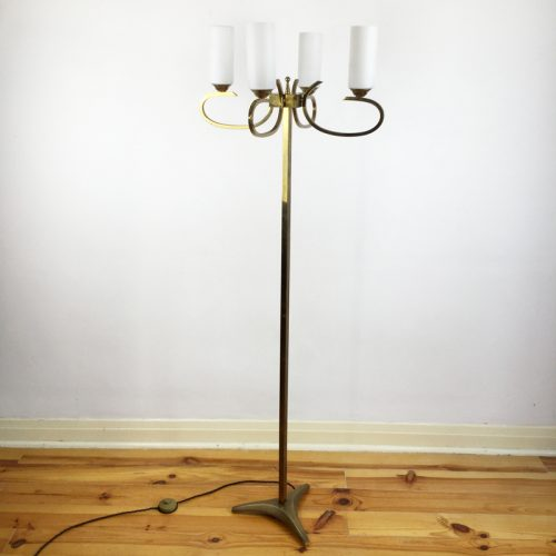 french brass floor lamp 1960s (13)