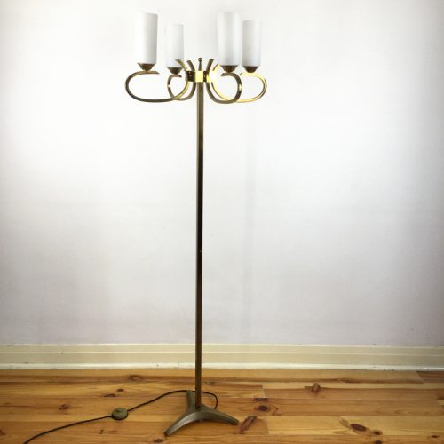 french brass floor lamp 1960s (3)