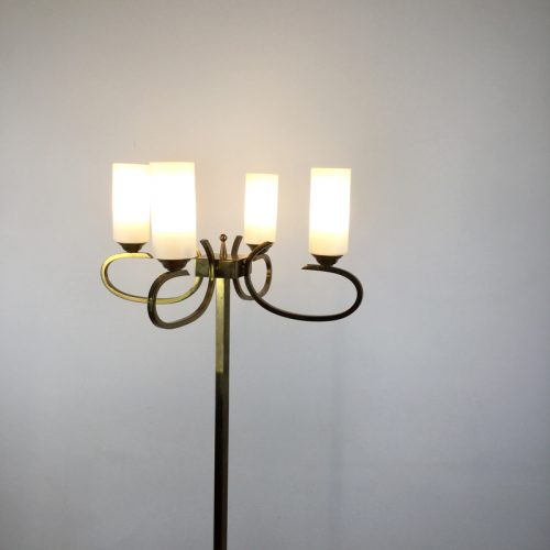 french brass floor lamp 1960s (5)