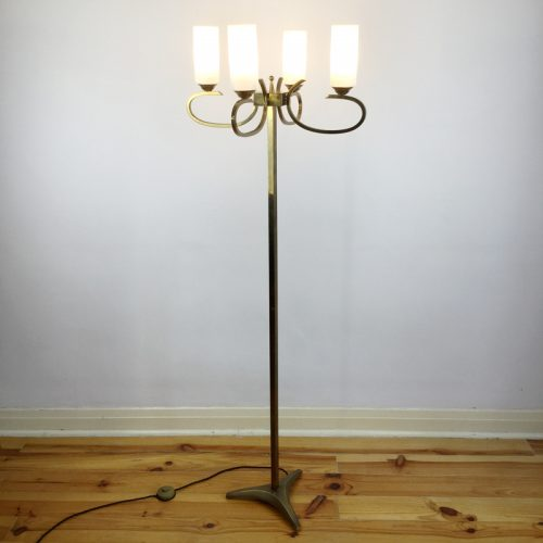 french brass floor lamp 1960s (9)