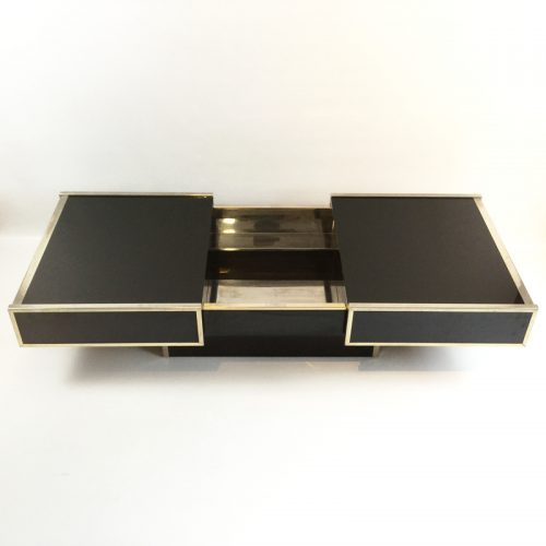 maison lancel bar open coffee table willy rizzo style 1970s (34)