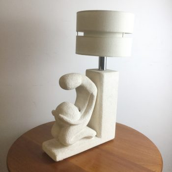albert tormos-limestone-carved-light-lamp-vallauris-france-1970s