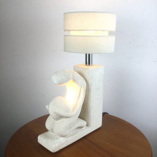 albert tormos carved stone table lamp (5)