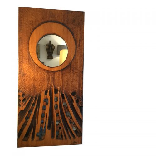 1970s wooden mirror by guallino (6)