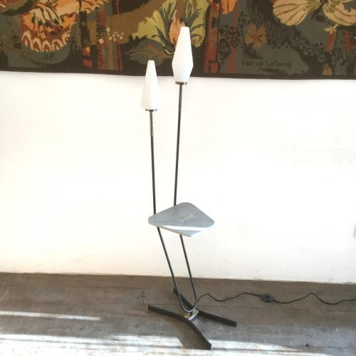1950s french floor lamp marble table 1 (11)