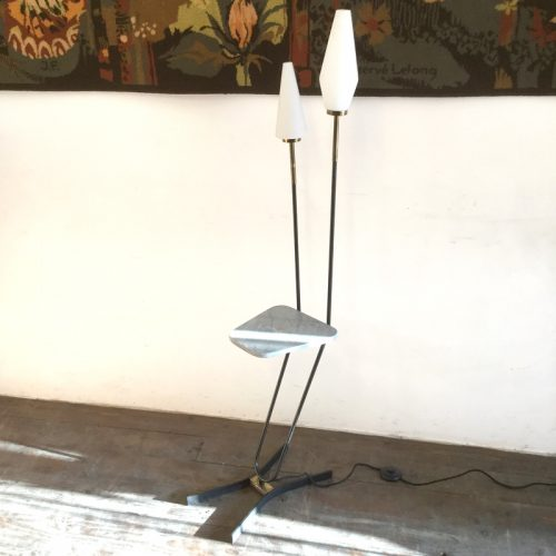 1950s french floor lamp marble table 1 (3)