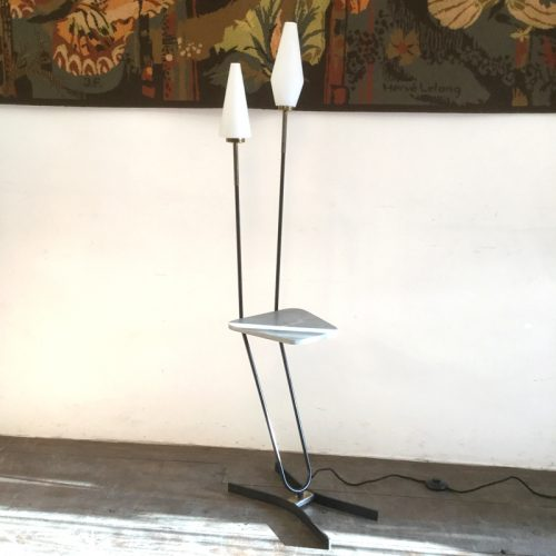 1950s french floor lamp marble table 1 (5)